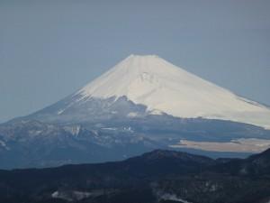 冬富士山1